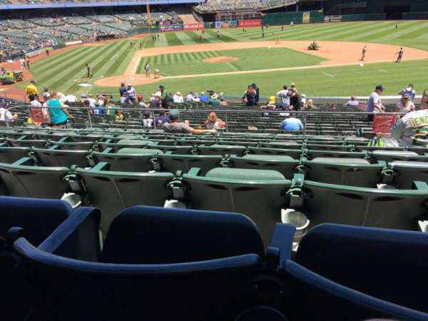 Oakland Coliseum, section: 114, row: 29, seat: 2