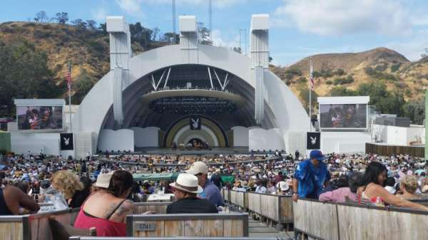 Hollywood Bowl, section: Terrace 4, row: 1841, seat: 3