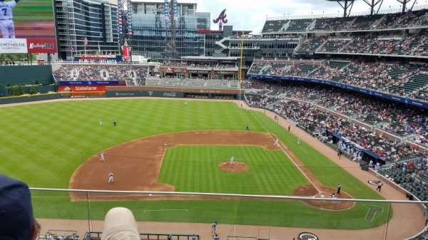 SunTrust Park, section: 331, row: 3, seat: 7 or 8