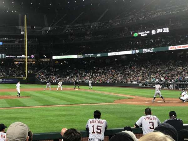 T-Mobile Park, section: 137, row: 9, seat: 7
