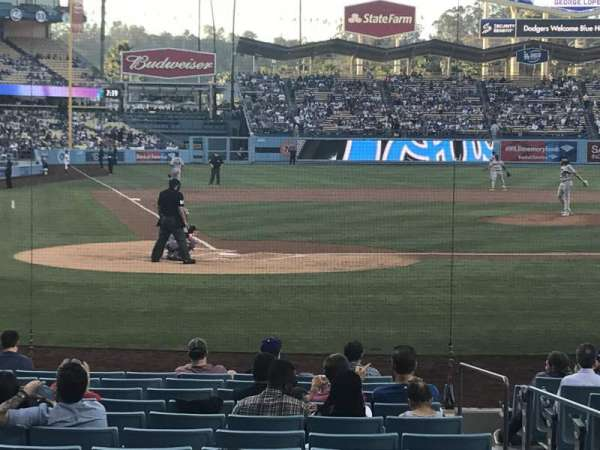 Dodger Stadium, section: 8FD, row: G, seat: 7