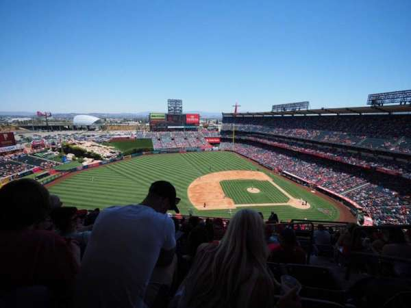 Angel Stadium, section: V512, row: L, seat: 25