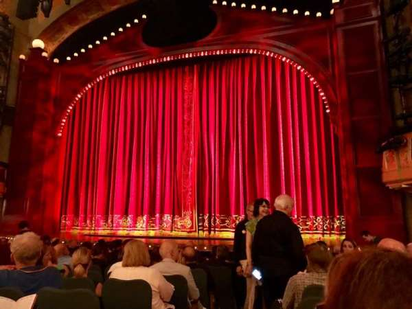 Shubert Theatre, section: Orchestra R, row: M, seat: 2