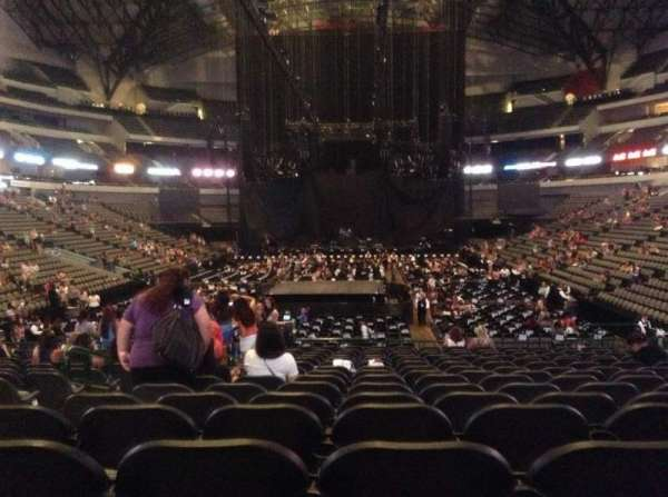 American Airlines Center, section: 112, row: P, seat: 19