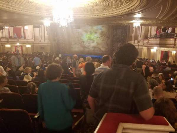 Citizens Bank Opera House, section: Orchestra, row: X, seat: 52