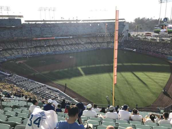 Dodger Stadium, section: 52RS, row: T, seat: 10