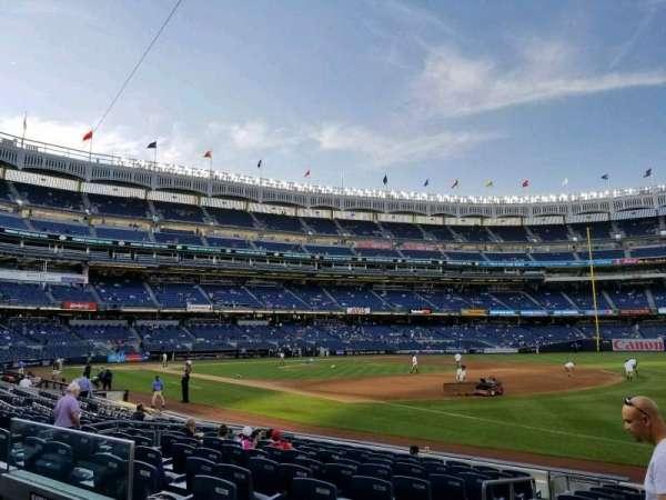 Yankee Stadium, section: 112, row: 2, seat: 12