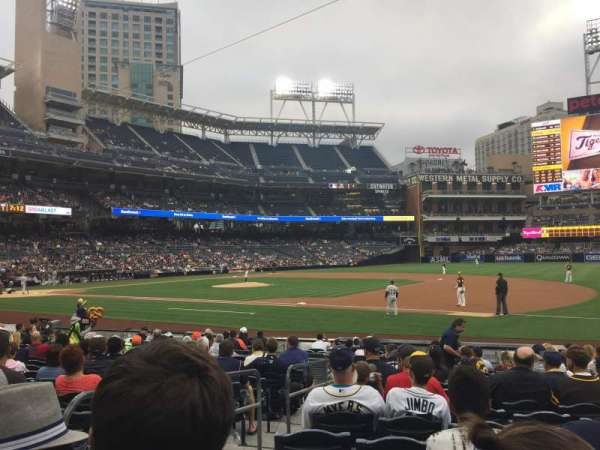 PETCO Park, section: 113, row: 18, seat: 3