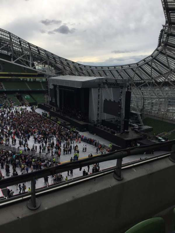 Aviva Stadium, section: 503, row: B, seat: 32