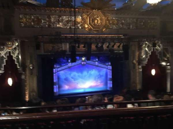 Hollywood Pantages Theatre, section: Mezzanine LC, row: J, seat: 305