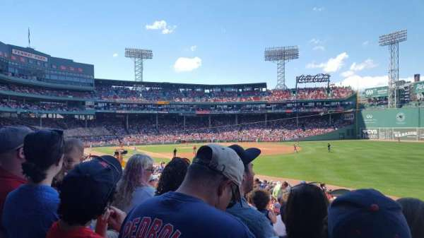 Fenway Park, section: Right Field Box 94, row: TT, seat: 21