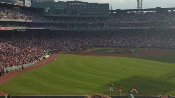 Fenway Park, section: Bleacher 42, row: 48, seat: 12