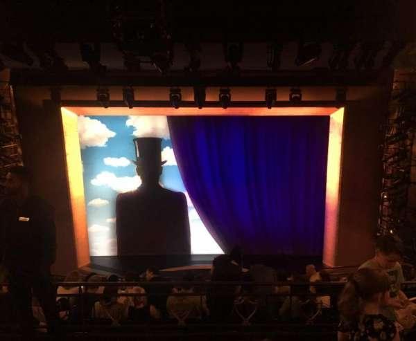 Lunt-Fontanne Theatre, section: Rear Mezzanine RC, row: C, seat: 104