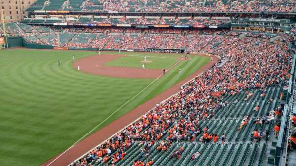 Oriole Park at Camden Yards, section: 376, row: 1, seat: 1