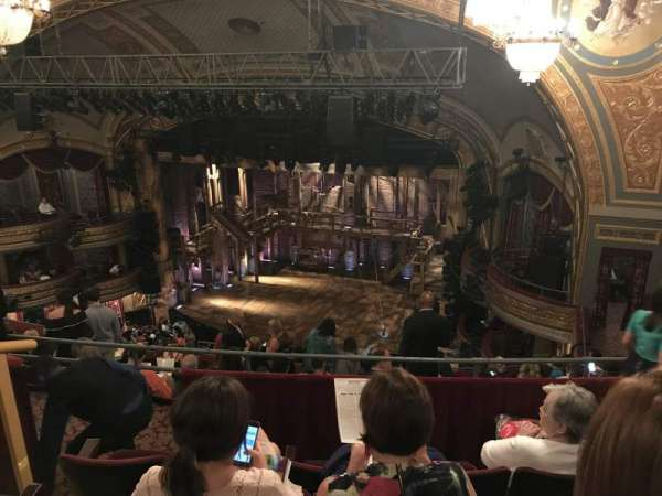 Richard Rodgers Theatre, section: Rear Mezzanine R, row: K, seat: 24
