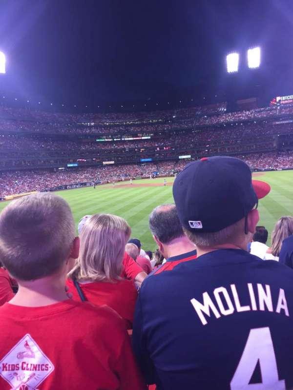 Busch Stadium, section: 101, row: 11, seat: 10