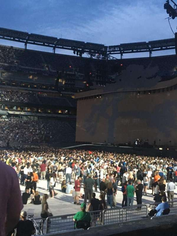 MetLife Stadium, section: 113, row: 3, seat: 20