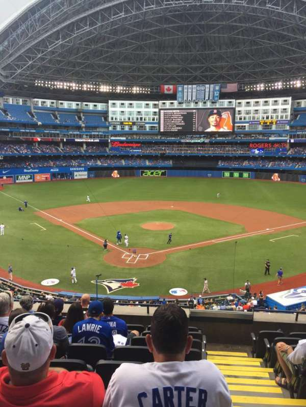 Rogers Centre, section: 224AR, row: 9, seat: 9