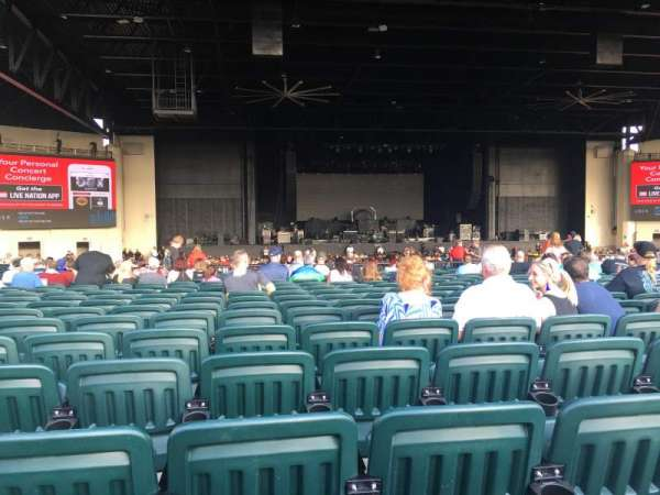 Dos Equis Pavilion, section: 203, row: AA, seat: 24