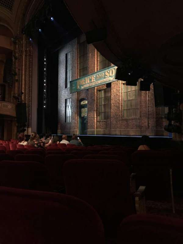 Al Hirschfeld Theatre, section: Orchestra R, row: J, seat: 24
