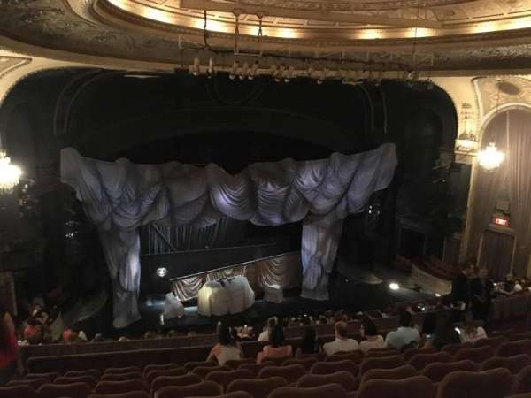 Majestic Theatre, section: Rear Mezzanine LC, row: H, seat: 123