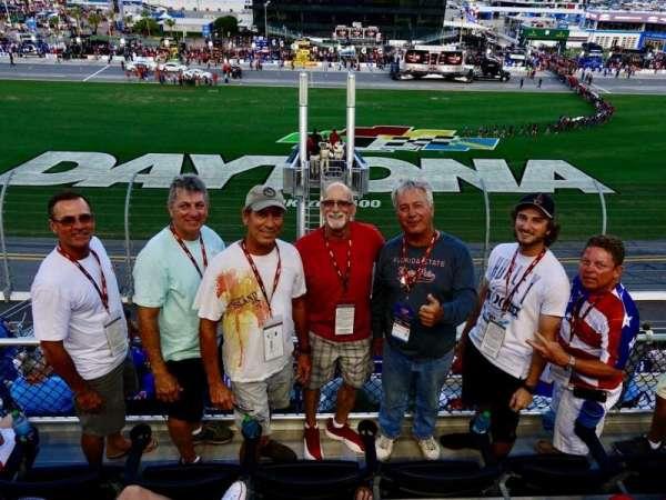 Daytona International Speedway, section: 351, row: 4, seat: 8