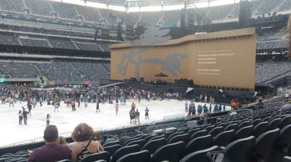 MetLife Stadium, section: 114, row: 23, seat: 14