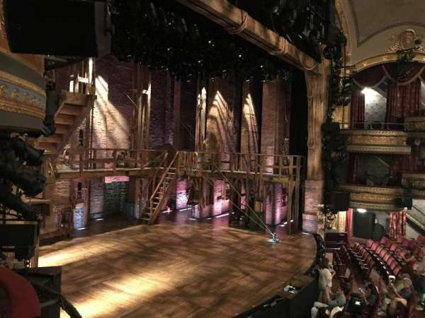Richard Rodgers Theatre, section: Box A, row: 1, seat: 2