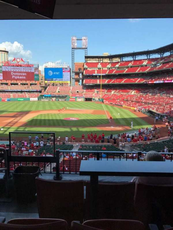 Busch Stadium, section: Suite 23, row: A, seat: 3
