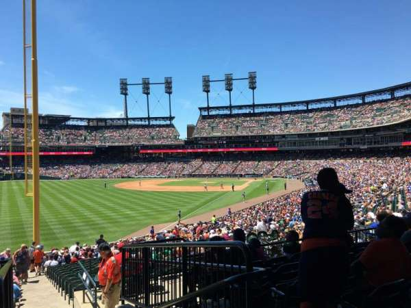 Comerica Park, section: 144, row: GG, seat: 1