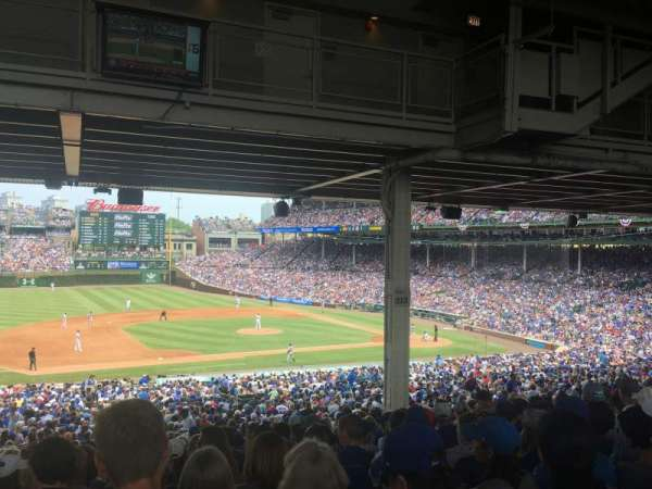Wrigley Field, section: 210, row: 18, seat: 8
