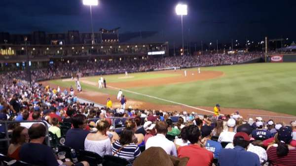BB&T Ballpark (Charlotte), section: 102, row: S, seat: 21