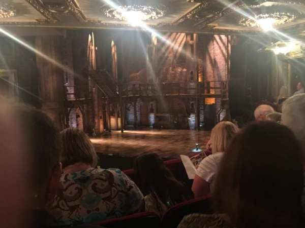 CIBC Theatre, section: Dress Circle R, row: C, seat: 6