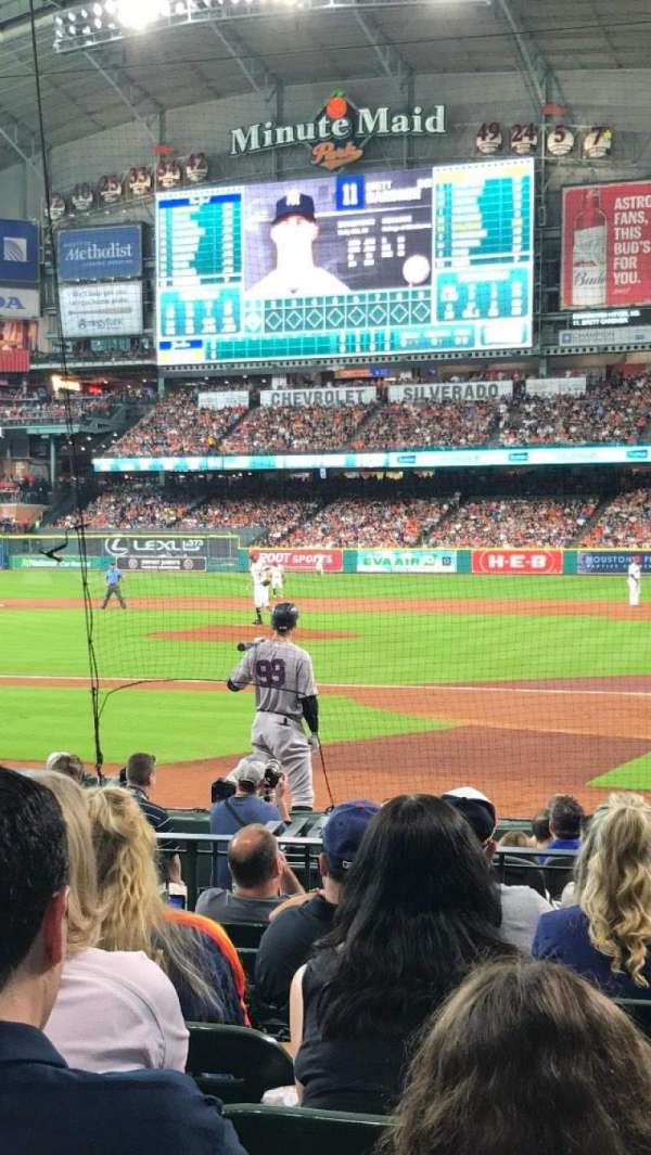 Minute Maid Park, section: 116, row: 12, seat: 12