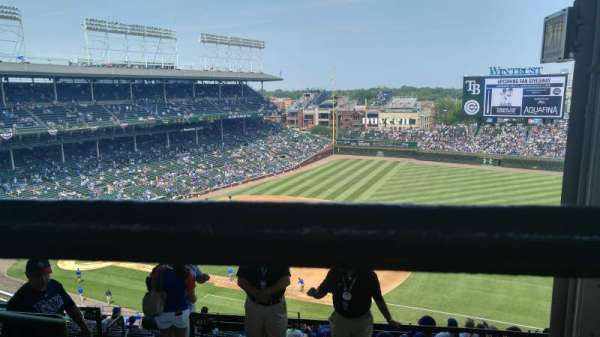 Wrigley Field, section: 426R, row: 3, seat: 19