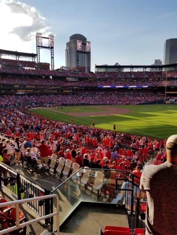 Busch Stadium, section: 133, row: 20, seat: 1