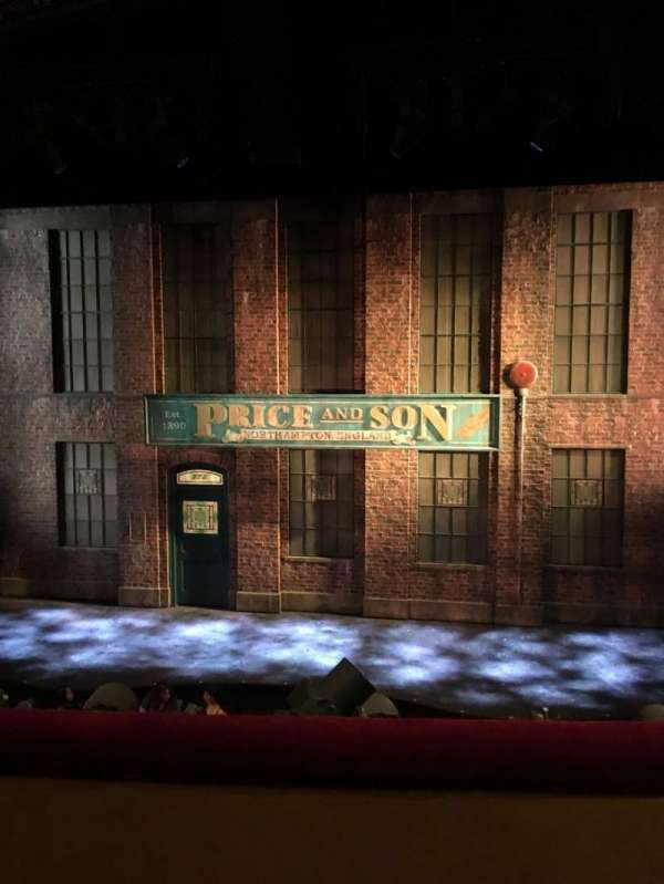 Al Hirschfeld Theatre, section: Mezz, row: B, seat: 103