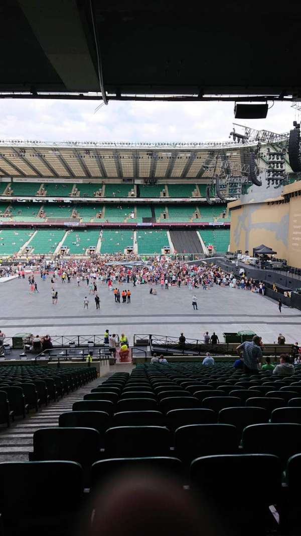 Twickenham Stadium, section: L4, row: 37, seat: 190