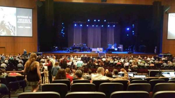 The Theater at MGM National Harbor, section: 103, row: J, seat: 20