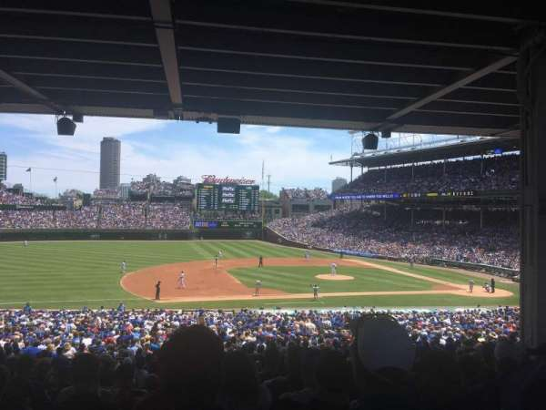 Wrigley Field, section: 210, row: 14, seat: 8