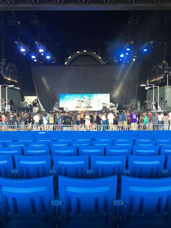 PNC Music Pavilion, section: 2, row: U, seat: 21
