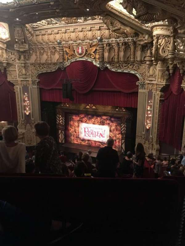 James M. Nederlander Theatre, section: Balcony R, row: N, seat: 372