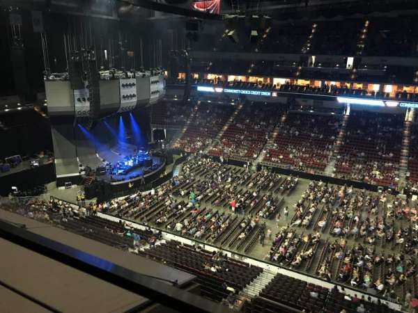 Wells Fargo Arena, section: 319, row: A, seat: 5