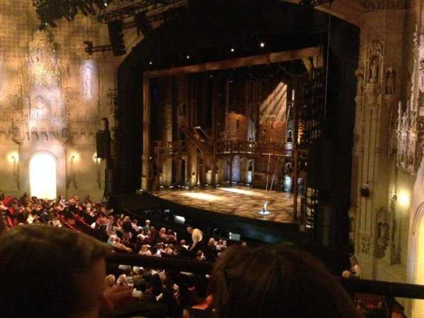 Orpheum Theatre (San Francisco), section: Loge R, row: B, seat: 28