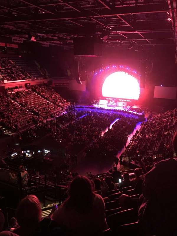 Mohegan Sun Arena, section: 110, row: K, seat: 19