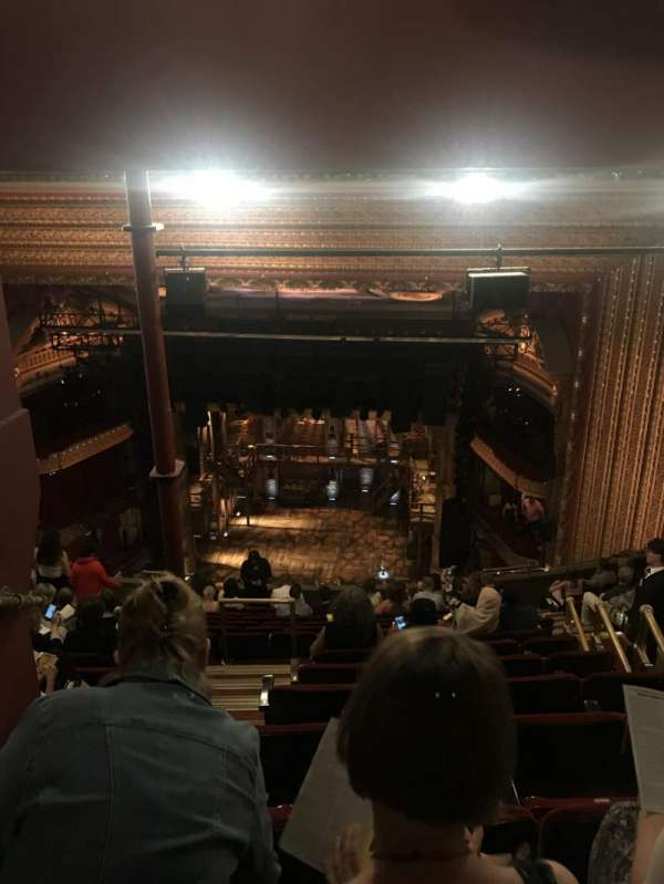 CIBC Theatre, section: Balcony RC, row: P, seat: 214