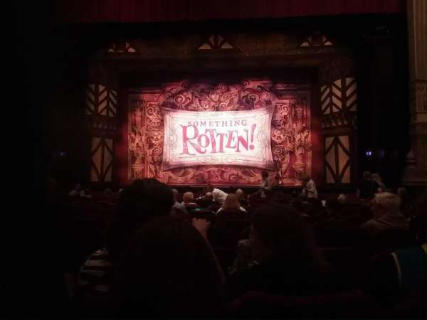 Nederlander Theatre (Chicago), section: Orchestra C, row: O, seat: 112