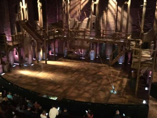Richard Rodgers Theatre, section: Front Mezzanine R, row: A, seat: 6-8