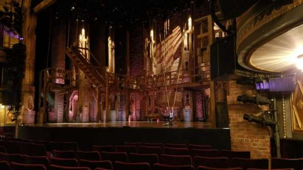 Richard Rodgers Theatre, section: Orchestra R, row: H, seat: 20