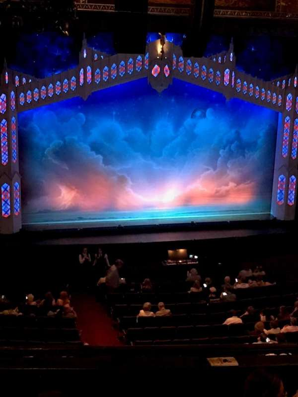 Hollywood Pantages Theatre, section: Mezzanine, row: F, seat: 307